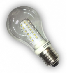 This is a 5W Standard GLS bulb that produces a Warm White (830) light which can be used in domestic and commercial applications
