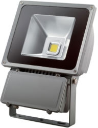 This is a 70 W Flood Light bulb that produces a Daylight (860/865) light which can be used in domestic and commercial applications