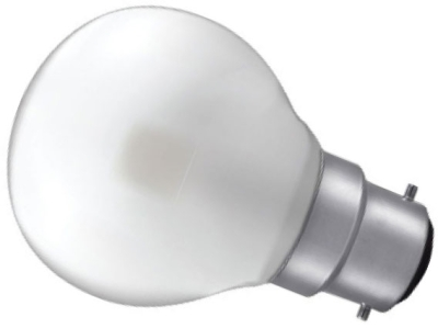 This is a 3 W 22mm Ba22d/BC Golfball bulb that produces a Warm White (830) light which can be used in domestic and commercial applications