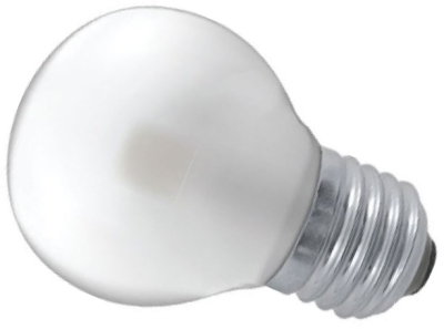 This is a 3 W 26-27mm ES/E27 Golfball bulb that produces a Warm White (830) light which can be used in domestic and commercial applications
