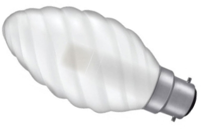 This is a 3 W 22mm Ba22d/BC Candle bulb that produces a Warm White (830) light which can be used in domestic and commercial applications