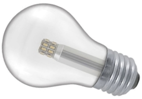 This is a 5 W 26-27mm ES/E27 Standard GLS bulb that produces a Warm White (830) light which can be used in domestic and commercial applications