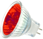 This is a Coloured LED MR11 Light bulbs