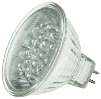 This is a 1.8W GX5.3/GU5.3 Reflector/Spotlight bulb that produces a Warm White (830) light which can be used in domestic and commercial applications