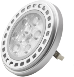 This is a 10W G53 (53mm Apart Prongs) Reflector/Spotlight bulb that produces a Cool White (840) light which can be used in domestic and commercial applications