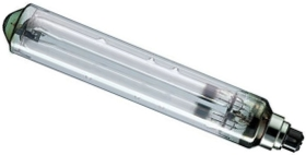This is a 91W 22mm Ba22d/BC Tubular bulb that produces a Sodium Orange light which can be used in domestic and commercial applications