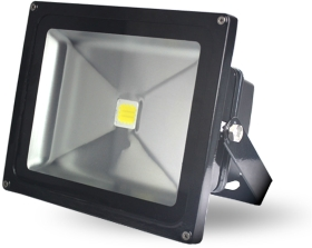 This is a 50 W Flood Light bulb that produces a Cool White (840) light which can be used in domestic and commercial applications