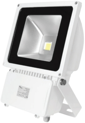 This is a 80 W Flood Light bulb that produces a Cool White (840) light which can be used in domestic and commercial applications