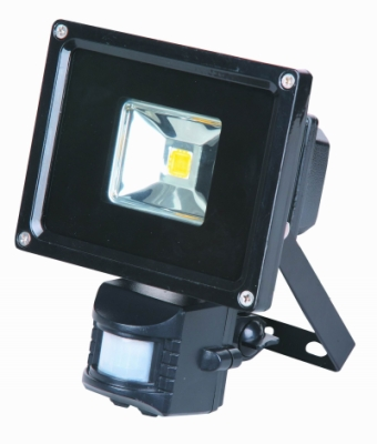 This is a 10 W Flood Light bulb that produces a Cool White (840) light which can be used in domestic and commercial applications