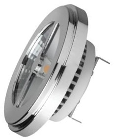 This is a 11 W G53 (53mm Apart Prongs) Reflector/Spotlight bulb that produces a Warm White (830) light which can be used in domestic and commercial applications