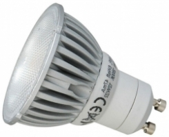 This is a 6 W GU10 Reflector/Spotlight bulb that produces a Cool White (840) light which can be used in domestic and commercial applications