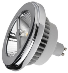 This is a 15 W GU10 Reflector/Spotlight bulb that produces a Cool White (840) light which can be used in domestic and commercial applications