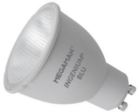 This is a 8 W GU10 Reflector/Spotlight bulb that produces a Cool White (840) light which can be used in domestic and commercial applications