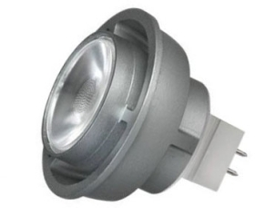 This is a 6 W GX5.3/GU5.3 Reflector/Spotlight bulb that produces a Cool White (840) light which can be used in domestic and commercial applications