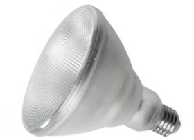 This is a 15.5 W 26-27mm ES/E27 Reflector/Spotlight bulb that produces a Warm White (830) light which can be used in domestic and commercial applications