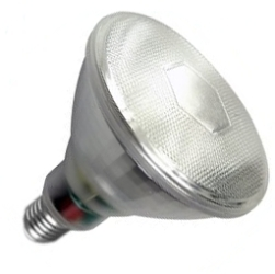 This is a 18W 26-27mm ES/E27 Reflector/Spotlight bulb that produces a Warm White (830) light which can be used in domestic and commercial applications