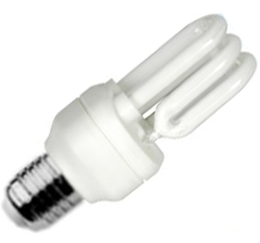 This is a 11W 26-27mm ES/E27 Multi Tube bulb that produces a Warm White (830) light which can be used in domestic and commercial applications