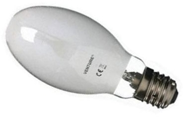 This is a 125W 39-40mm GES/E40 Eliptical bulb that produces a White (835) light which can be used in domestic and commercial applications