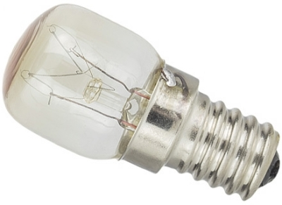 This is a 25W 17mm E17 Pygmy bulb that produces a Clear light which can be used in domestic and commercial applications