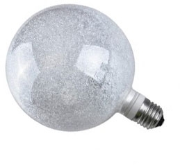 This is a 3 W 26-27mm ES/E27 Globe bulb that produces a Warm White (830) light which can be used in domestic and commercial applications