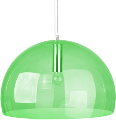 This is a Green finish light fitting that has a diameter of 500 mm and takes a Screw In light bulb produced by MiniSun