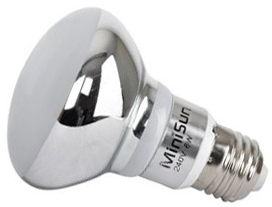 This is a 6 W 26-27mm ES/E27 Reflector/Spotlight bulb that produces a Warm White (830) light which can be used in domestic and commercial applications