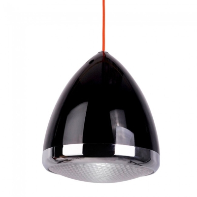 This is a Black finish light fitting that has a diameter of 270 mm and takes a Screw In light bulb produced by MiniSun