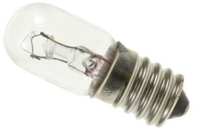 This is a 7W 12mm E12 Miniature bulb that produces a Warm White (830) light which can be used in domestic and commercial applications