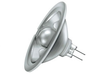 This is a 20W GY4 Reflector/Spotlight bulb that produces a Very Warm White (827) light which can be used in domestic and commercial applications
