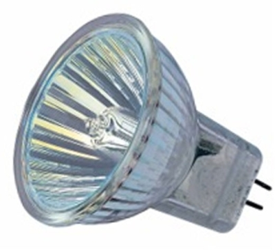 This is a 35W GU4/GZ4 Reflector/Spotlight bulb that produces a Warm White (830) light which can be used in domestic and commercial applications