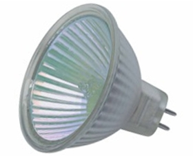 This is a 50 W GX5.3/GU5.3 Reflector/Spotlight bulb that produces a Cool White (840) light which can be used in domestic and commercial applications
