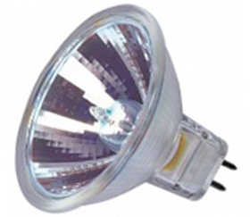 This is a 50 W GX5.3/GU5.3 bulb that produces a Warm White (830) light which can be used in domestic and commercial applications
