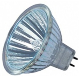 This is a 35 W GX5.3/GU5.3 Reflector/Spotlight bulb that produces a Warm White (830) light which can be used in domestic and commercial applications