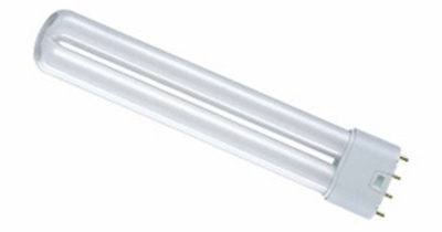 This is a 18 W 2G11 Multi Tube bulb that produces a Blue light which can be used in domestic and commercial applications
