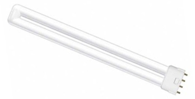 This is a 28 W 2GX11 Multi Tube bulb that produces a Warm White (830) light which can be used in domestic and commercial applications