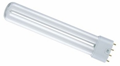 This is a 24 W 2G11 Multi Tube bulb that produces a Warm White (830) light which can be used in domestic and commercial applications
