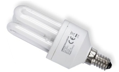 This is a 8W 14mm SES/E14 Multi Tube bulb that produces a Warm White (830) light which can be used in domestic and commercial applications