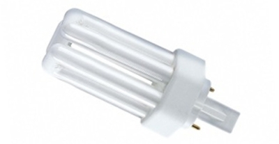 This is a 18W GX24D-2 Multi Tube bulb that produces a Cool White (840) light which can be used in domestic and commercial applications
