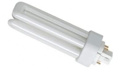 This is a 42W GX24Q-4 Multi Tube bulb that produces a Very Warm White (827) light which can be used in domestic and commercial applications