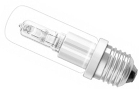 This is a 70 W Tubular bulb that produces a Very Warm White (827) light which can be used in domestic and commercial applications