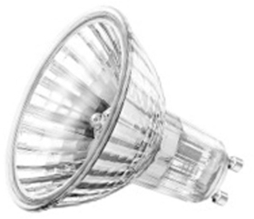 This is a 75 W GU10 Reflector/Spotlight bulb that produces a Very Warm White (827) light which can be used in domestic and commercial applications