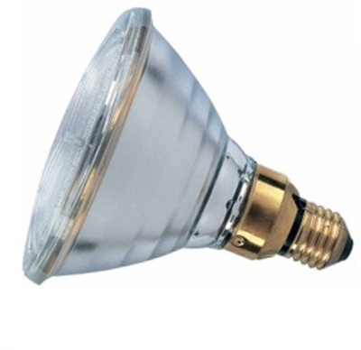 This is a 50 W 26-27mm ES/E27 Reflector/Spotlight bulb that produces a Warm White (830) light which can be used in domestic and commercial applications