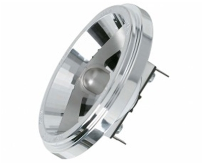 This is a 35W G53 (53mm Apart Prongs) bulb that produces a Warm White (830) light which can be used in domestic and commercial applications