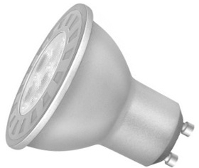 This is a 2 W GU10 Reflector/Spotlight bulb that produces a Warm White (830) light which can be used in domestic and commercial applications