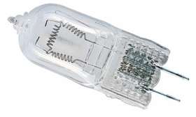 This is a 650W G6.35/GY6.35 (6.35mm Apart) Capsule bulb which can be used in domestic and commercial applications