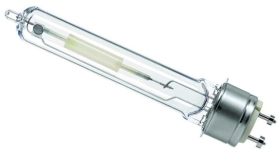 This is a 140 W PGZ12 bulb which can be used in domestic and commercial applications