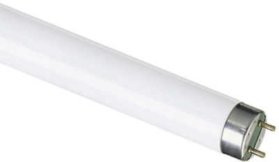 This is a 18W G13 T8 Linear (26mm Dia) bulb that produces a Cool White (840) light which can be used in domestic and commercial applications