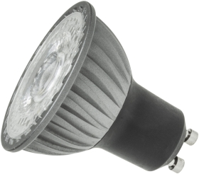 This is a 5.3 W GU10 Reflector/Spotlight bulb that produces a Very Warm White (827) light which can be used in domestic and commercial applications