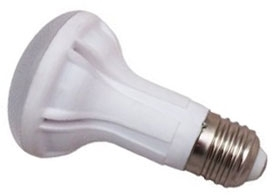 This is a 9 W 26-27mm ES/E27 Reflector/Spotlight bulb that produces a Warm White (830) light which can be used in domestic and commercial applications