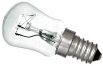 This is a 25W 14mm SES/E14 Pygmy bulb that produces a Clear light which can be used in domestic and commercial applications